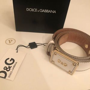 Authentic Dolce & Gabbana Belt